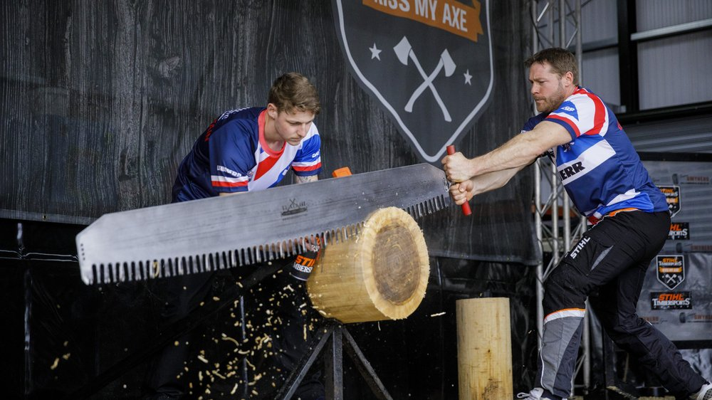 Win family ticket to Stihl TIMBERSPORTS | Leicester Tigers