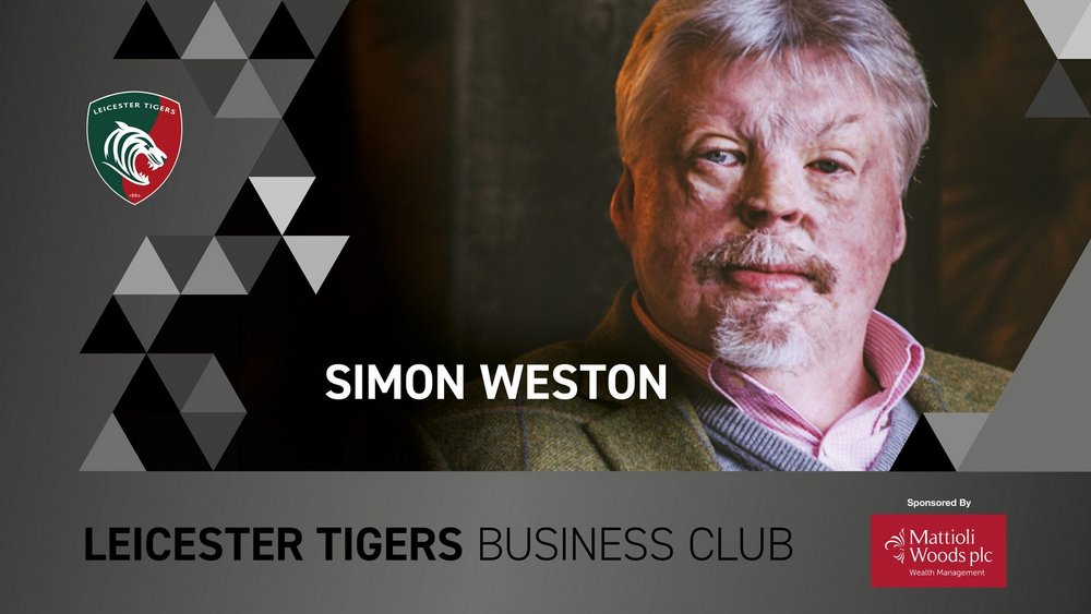 Leicester Tigers Business Club with Simon Weston