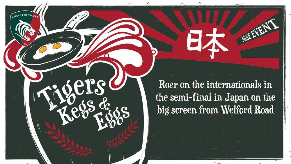 Tigers Kegs & Eggs - Quarter-Final