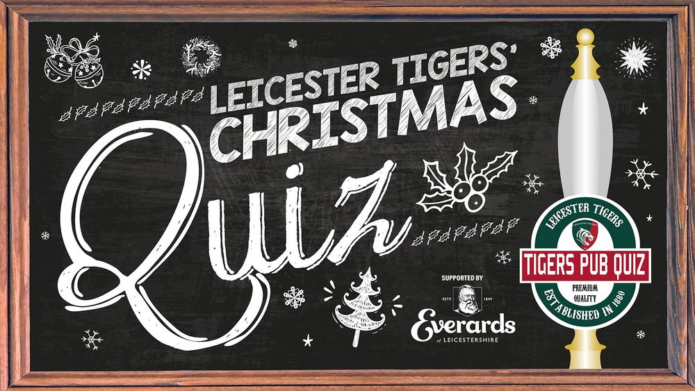 Leicester Tigers' Christmas Quiz