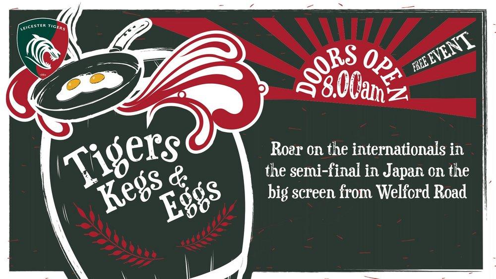 Tigers Kegs & Eggs - Semi-Final