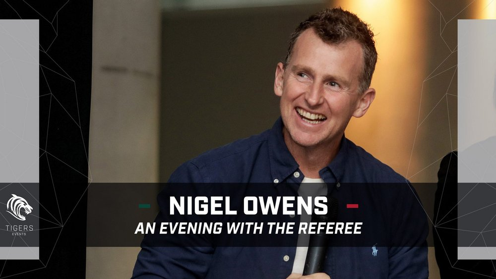Nigel Owens - An evening with the Referee
