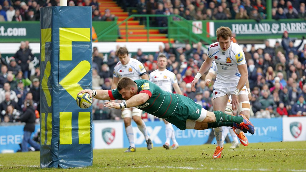 Props return in 39 a 39 league opener leicester tigers for Prem league table 99 00