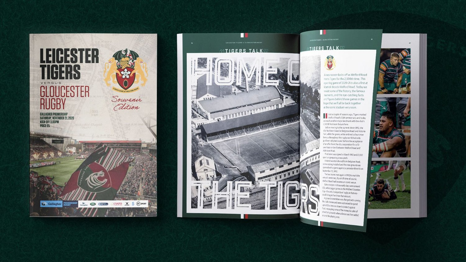 Leicester Tigers v Gloucester Rugby 2020-21 - Digital Matchday Programme