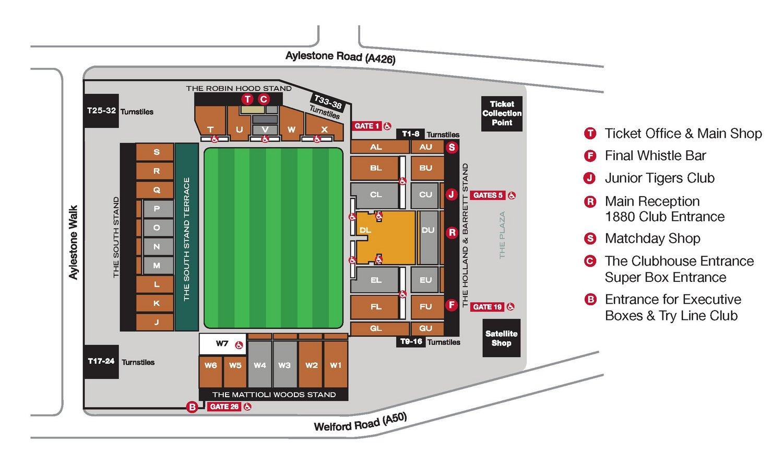 100 Grand Arena Floor Plan MapsPremium Seating T