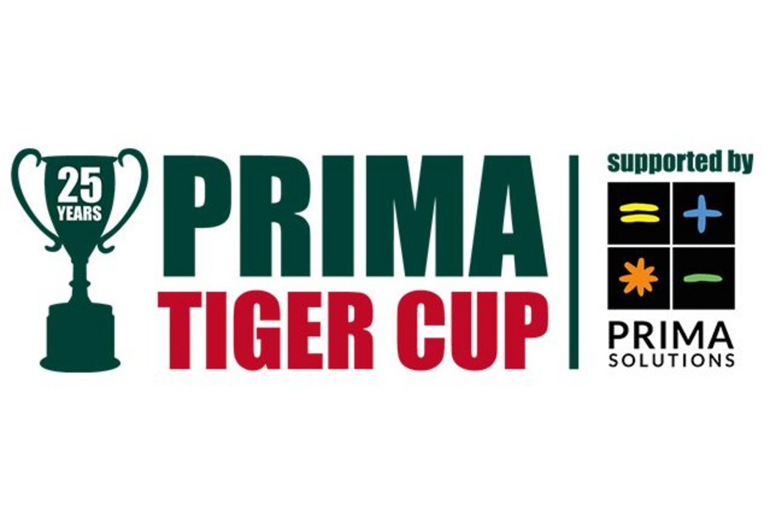 Prima Cup Logo 25 Years