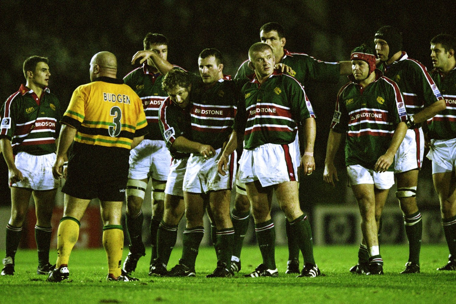Tigers front row Tournaire, Chuter and Rowntree lead the charge in 2002