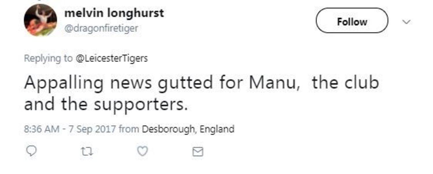 Manu Tuilagi Twitter message 2