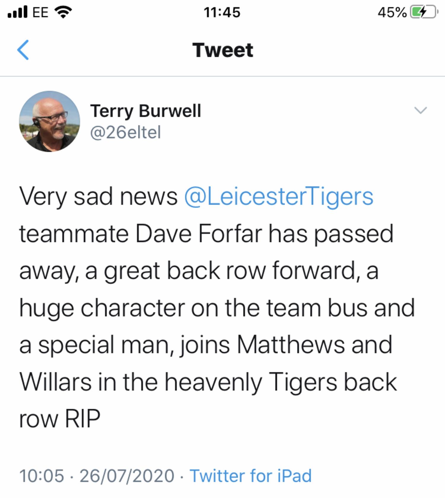 Dave Forfar