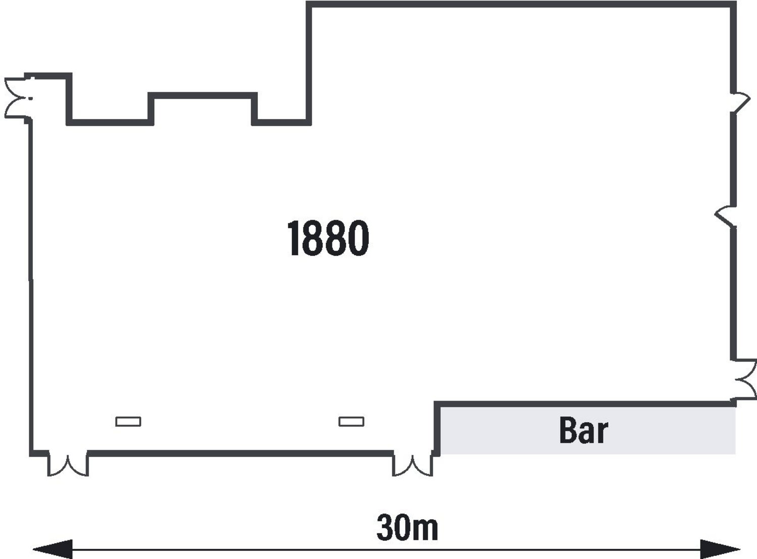 1880 Suite Floorplan