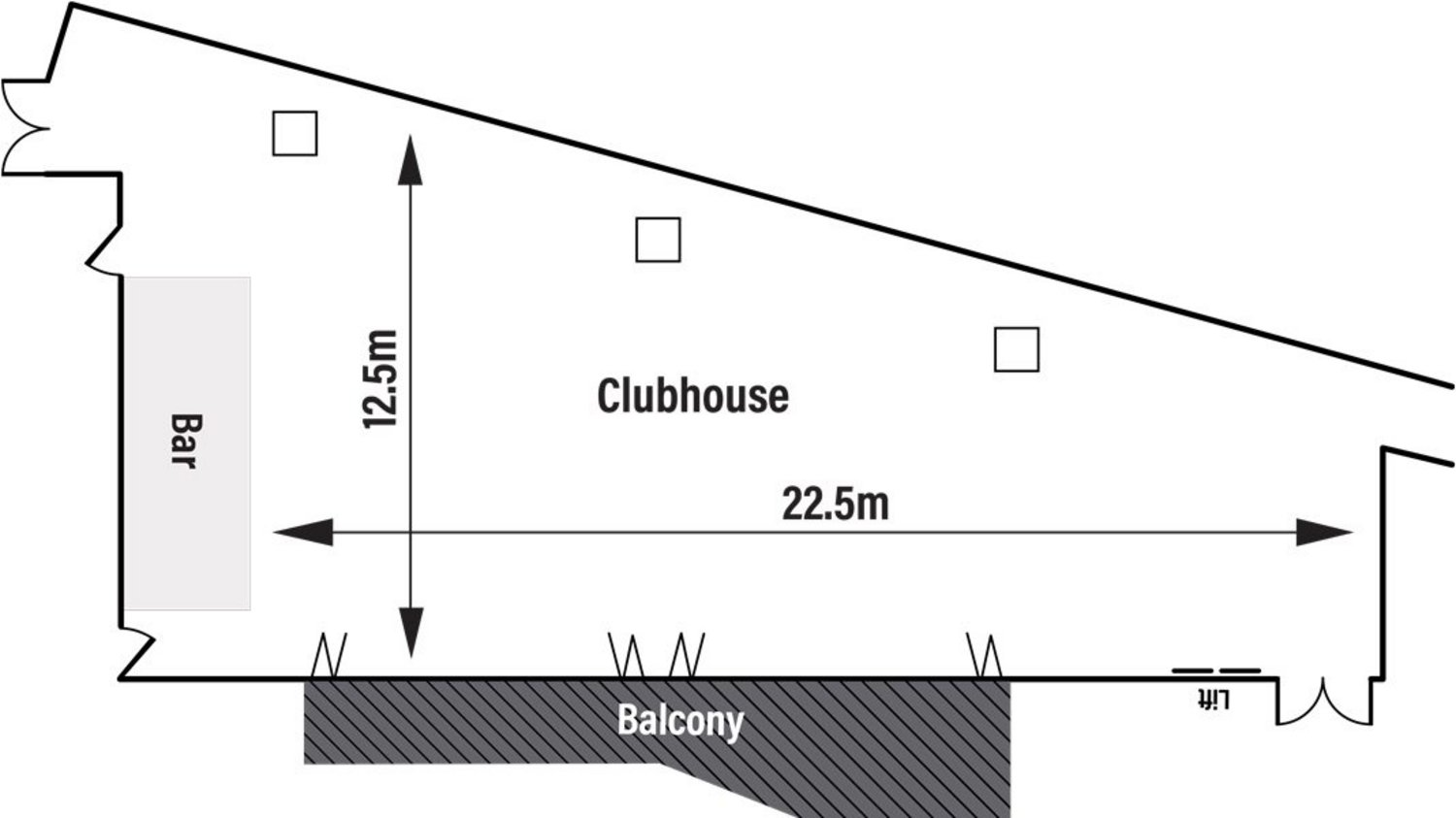 Clubhouse Lounge Floor Plan