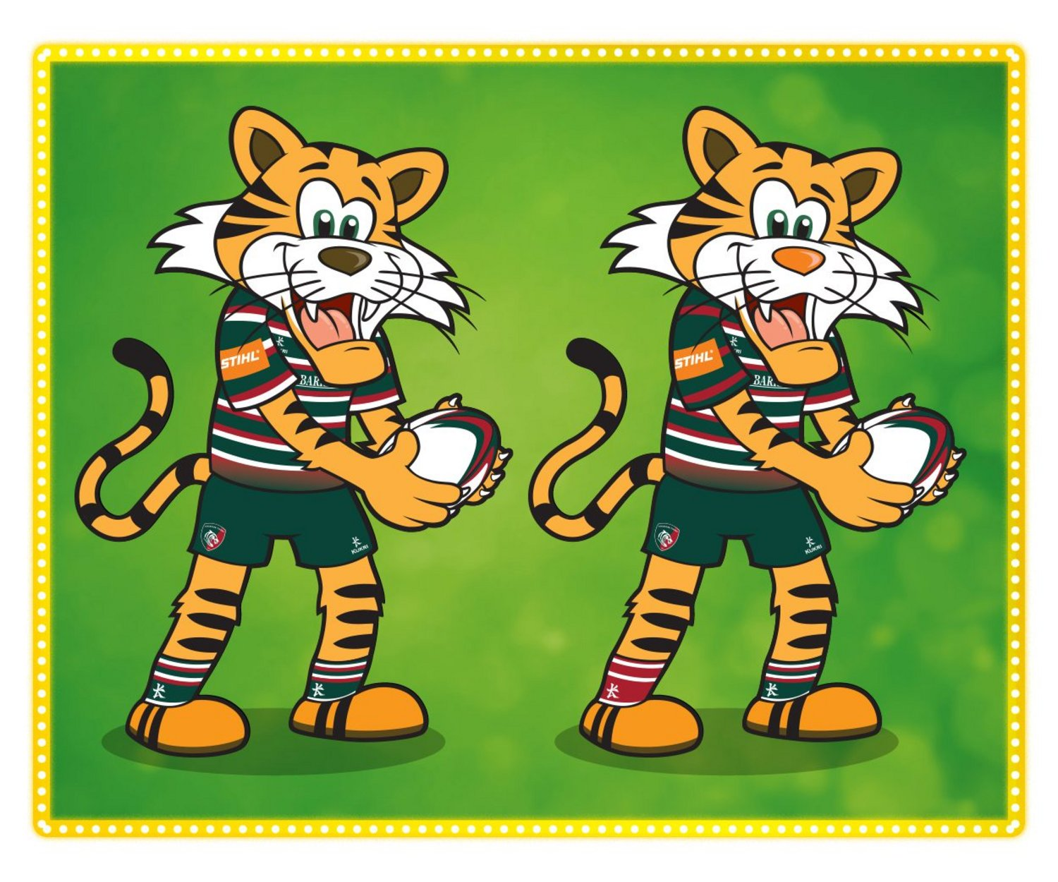 Junior Tigers Club Spot The Difference