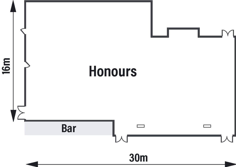 Honours Suite Floor Plan