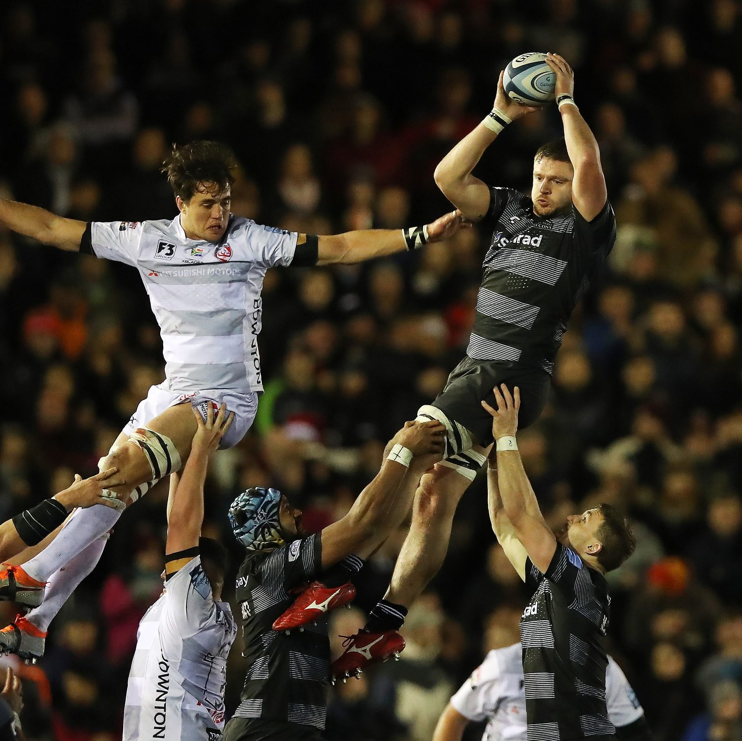 Calum Green Lineout Take