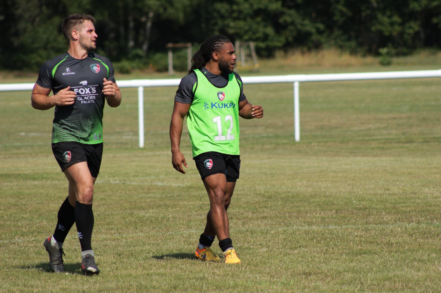 Joe Thomas and Kyle Eastmond