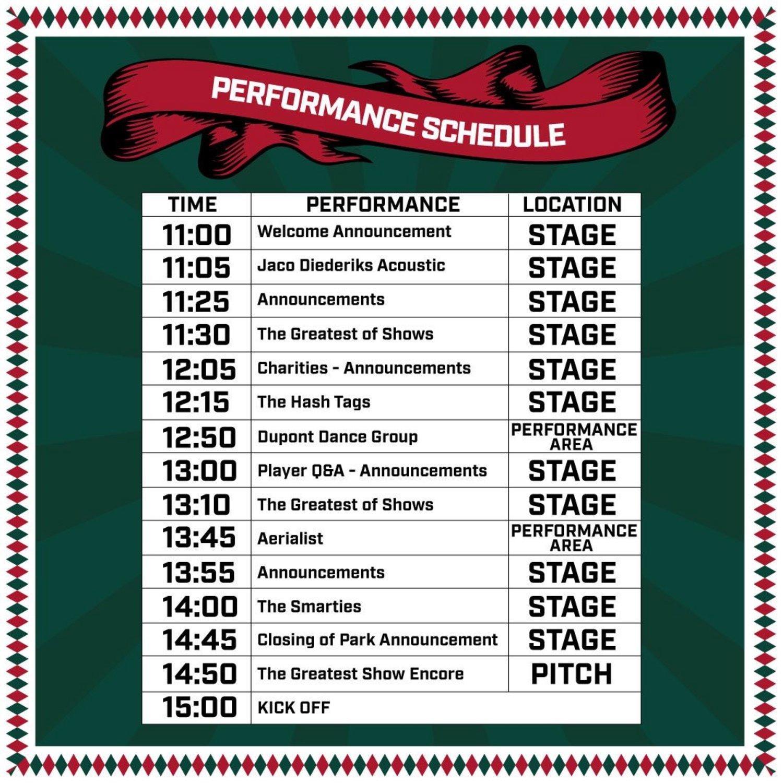 TITP-Schedule