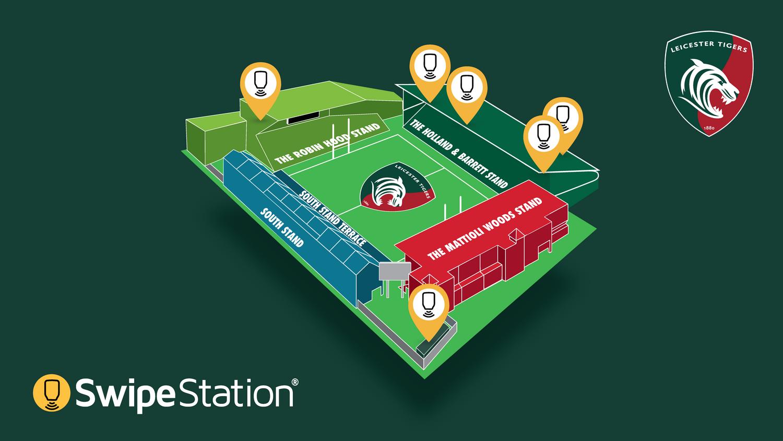 SwipeStation - Location Map