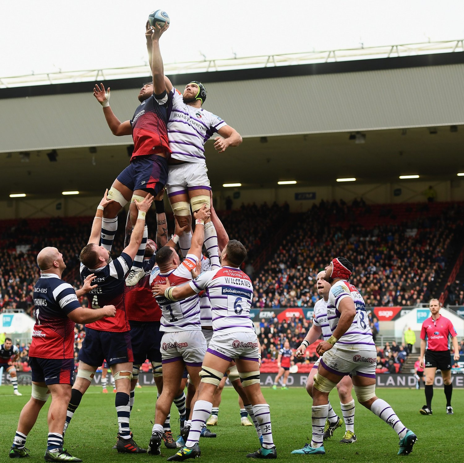 Bristol-Leicester Lineout