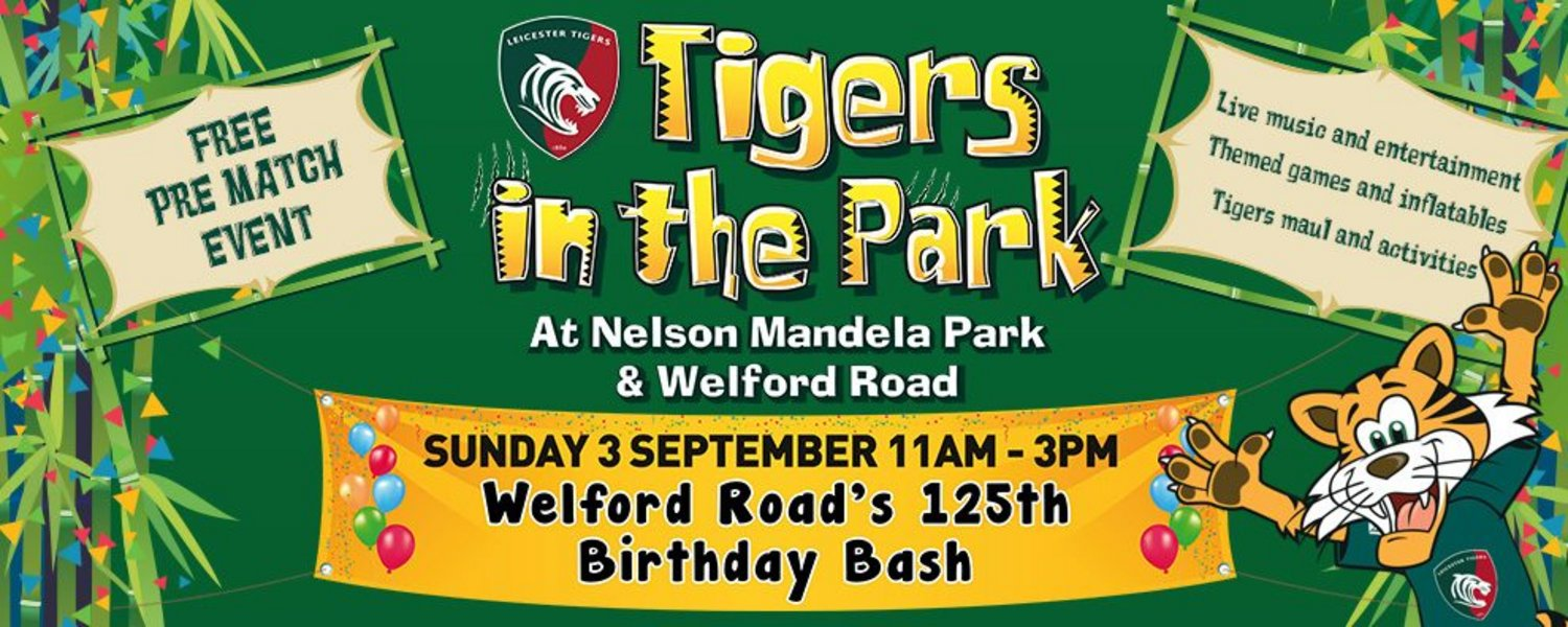 Tigers in the Park - Sunday September 3, 11am-3pm