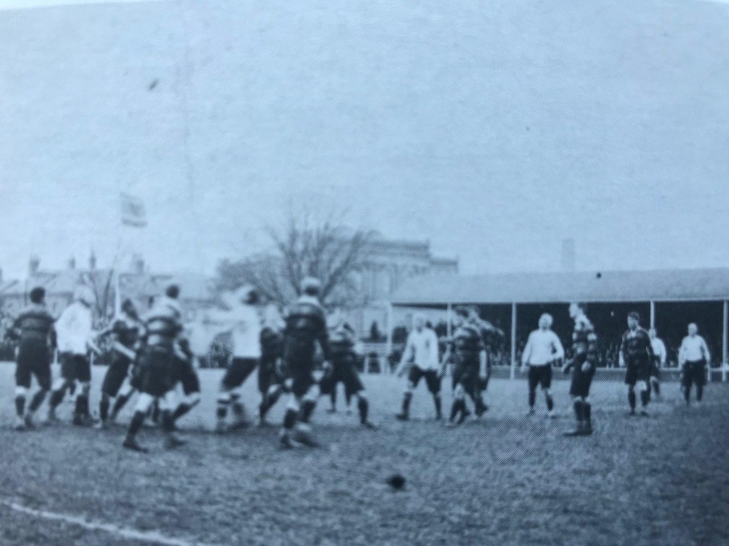 Tigers entertain Northampton during the 1908/09 season