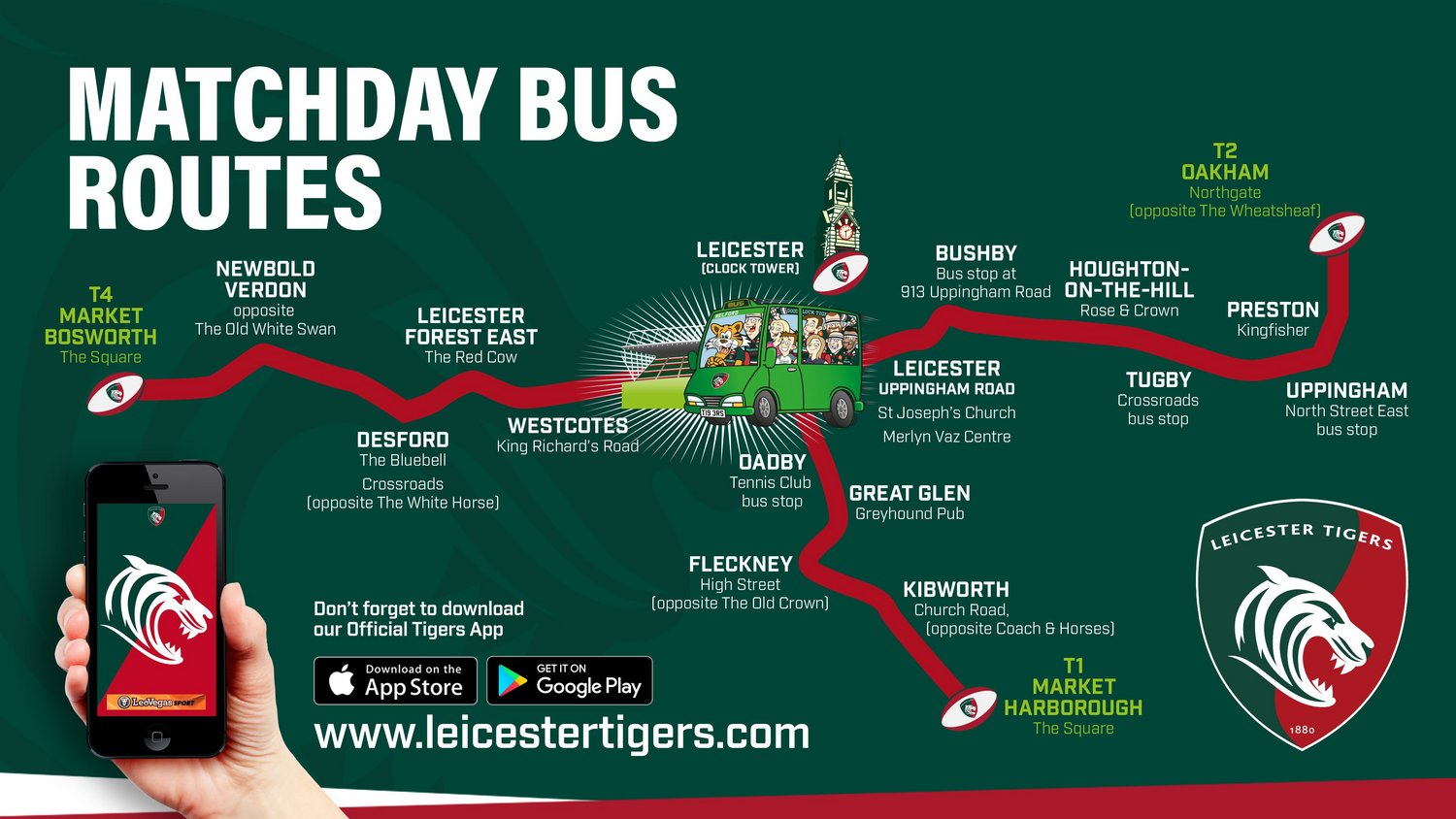 Centrebus matchday services