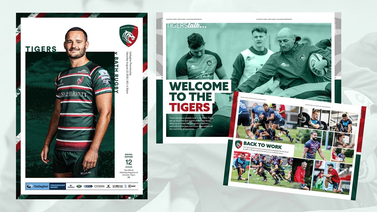 Leicester Tigers v Bath Rugby Digital Matchday Programme