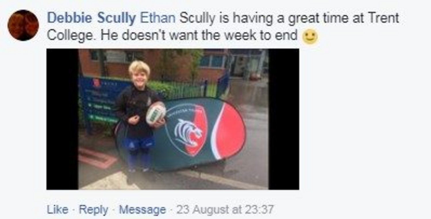 Rugby Camps social