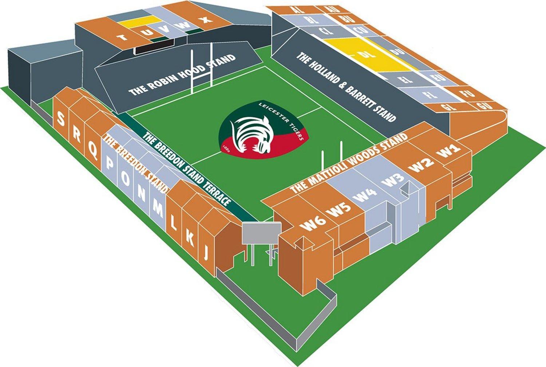 Season Ticket Stadium Plan 2018/19