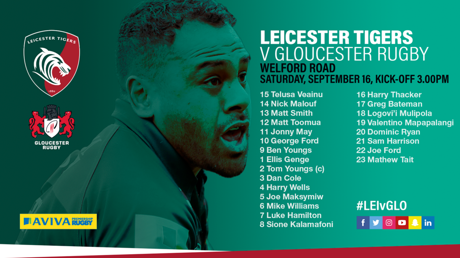 Leicester Tigers team