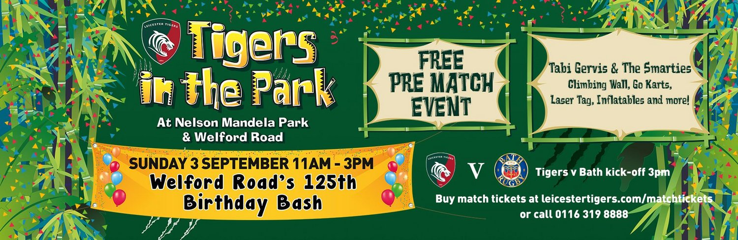 Tigers in the Park 2017