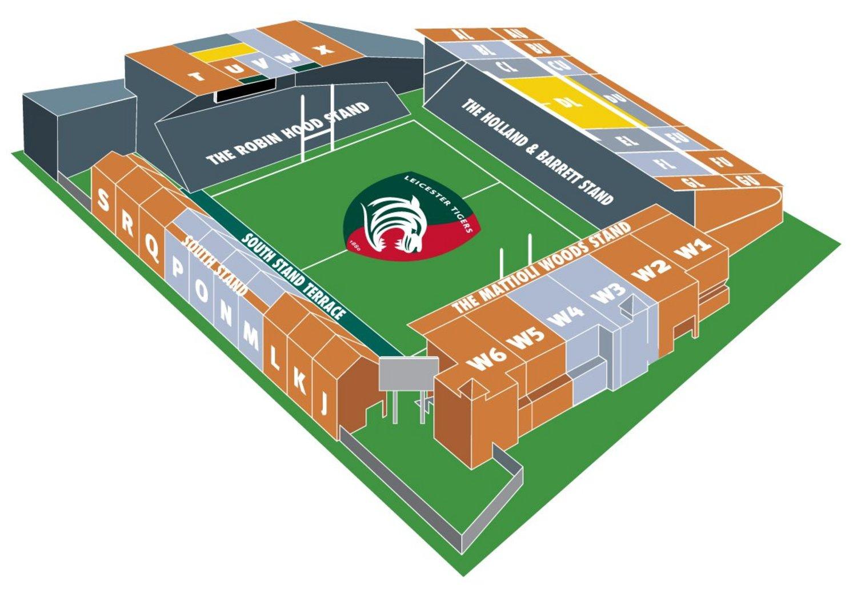 Season Ticket Stadium Plan 2017/18
