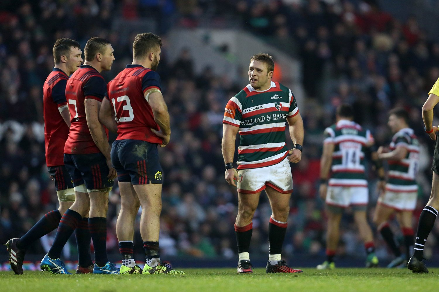 Tom Youngs against Munster Rugby