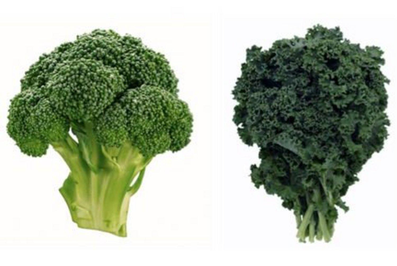 Broccoli and Kale