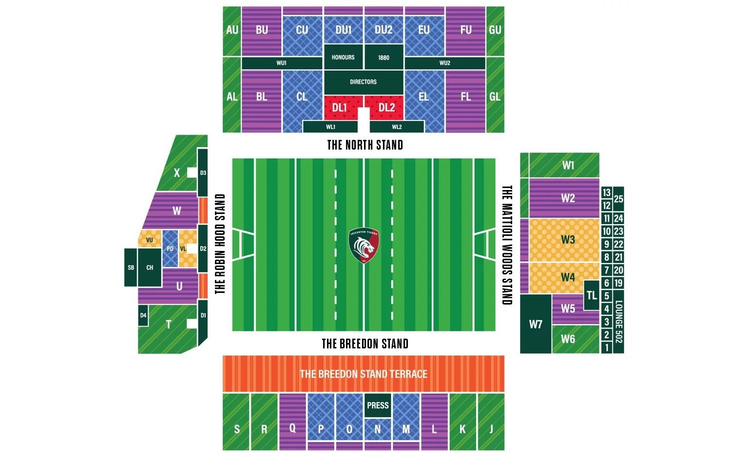 Season Ticket Stadium Plan 2020/21