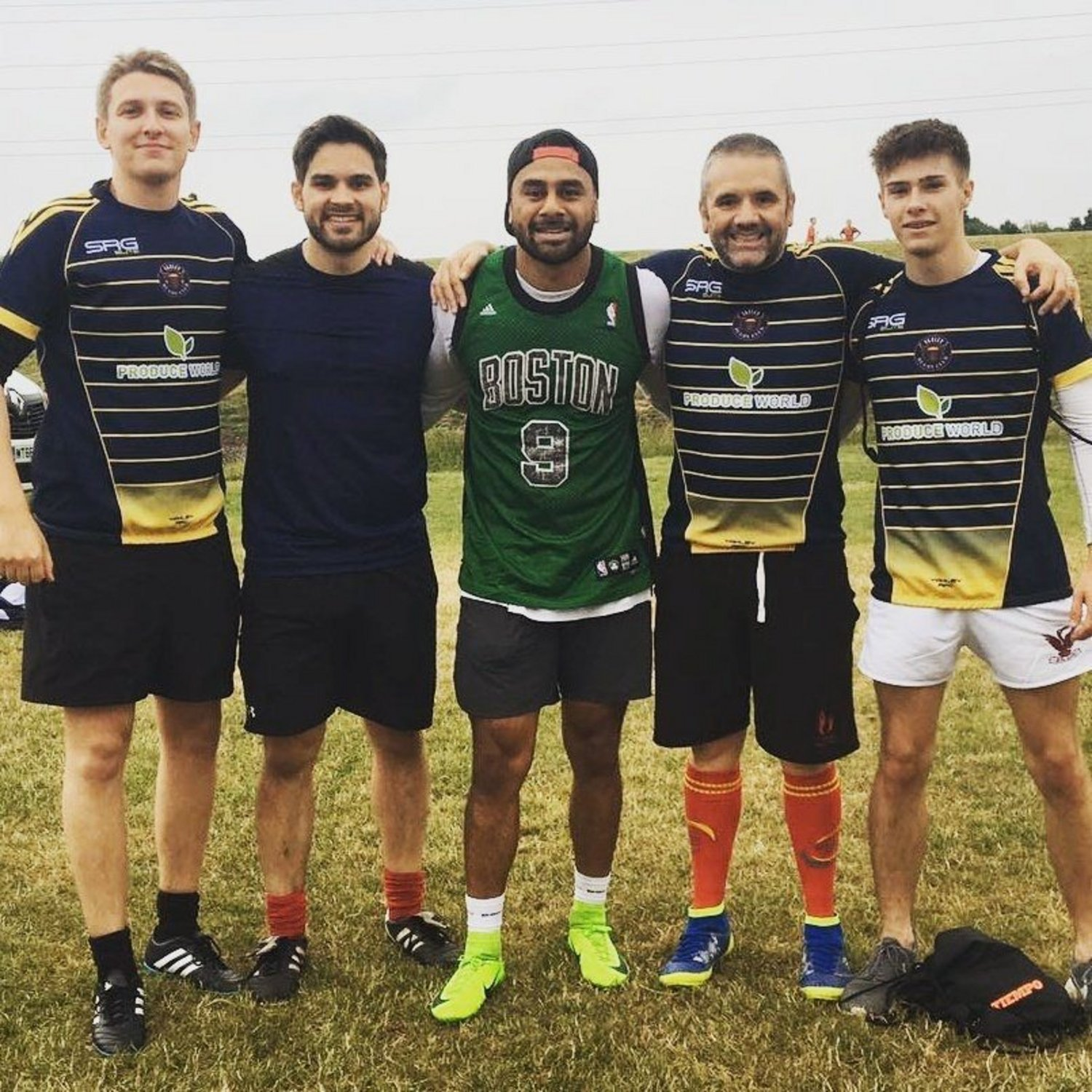 Telusa Veainu touch rugby