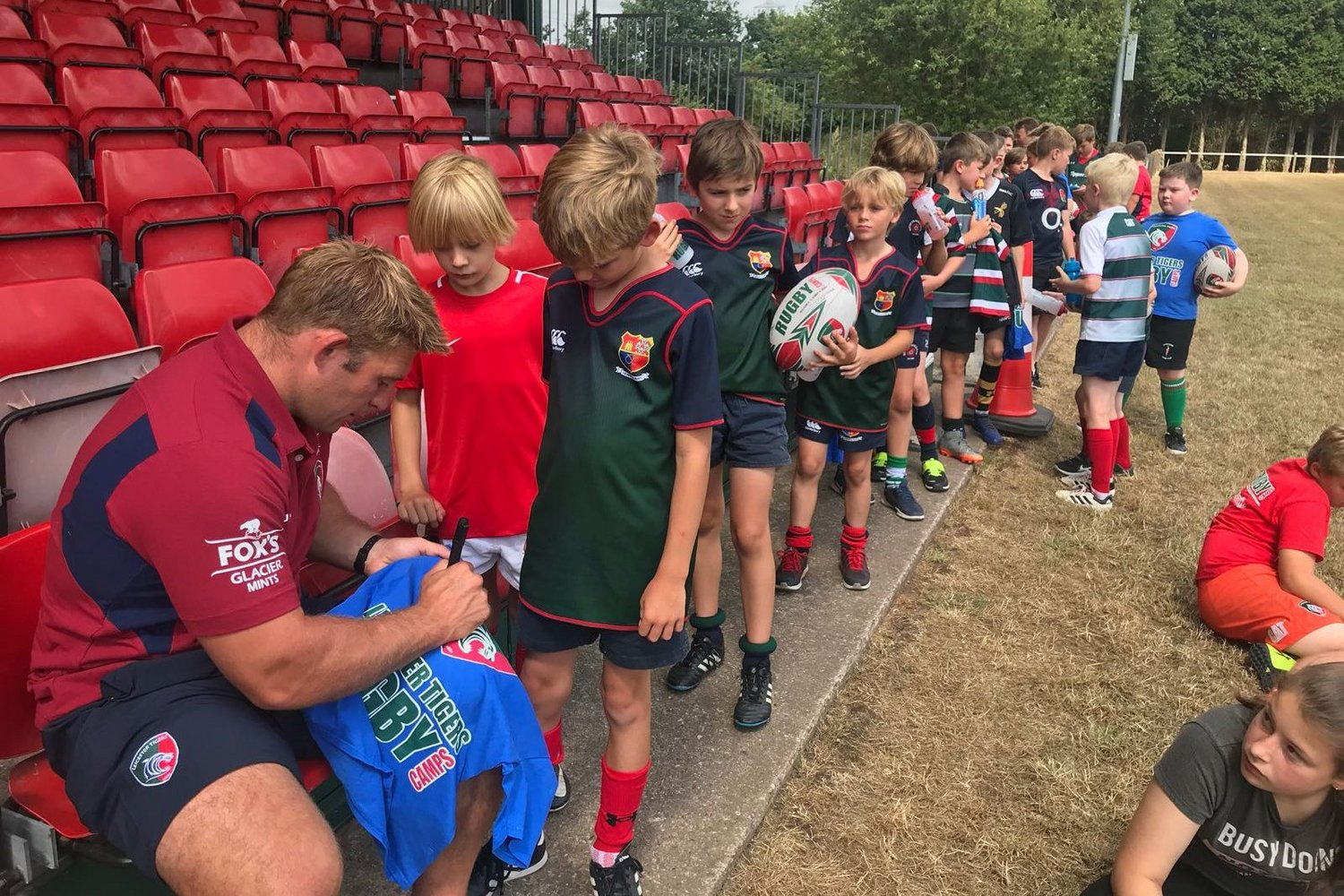 Tom Youngs camps