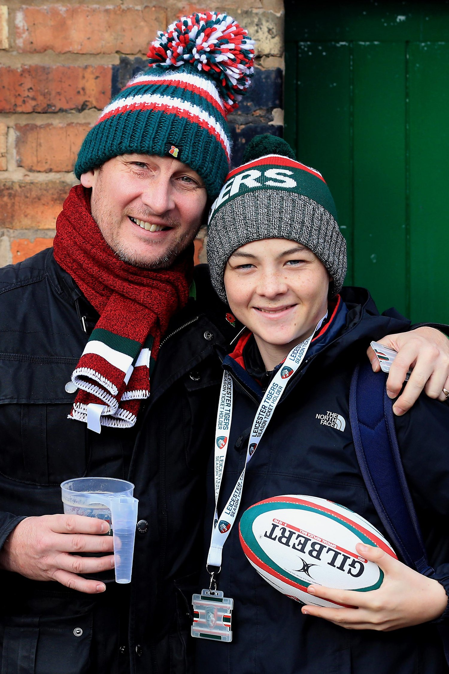 Leicester Tigers fans