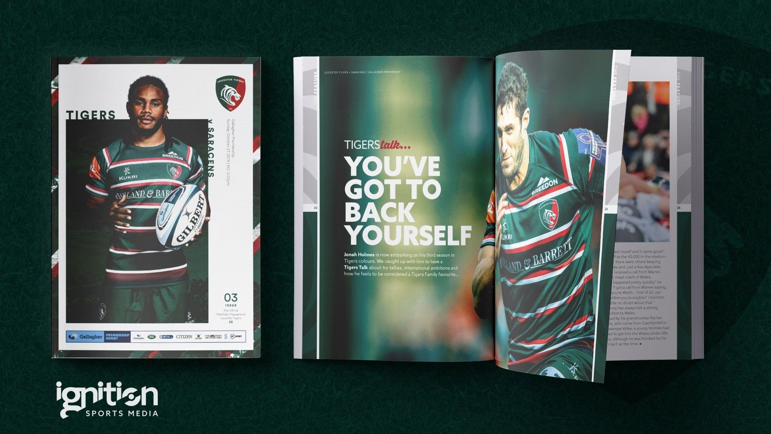 Tigers v Saracens Matchday Programme