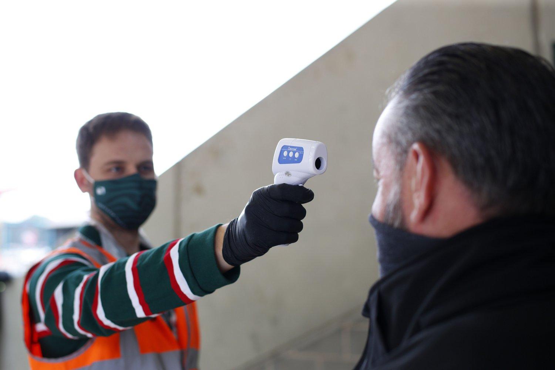 Steward temperature check
