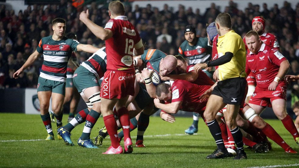 Tigers and Scarlets met in the Champions Cup in 2018/19 and are both now in the Challenge Cup