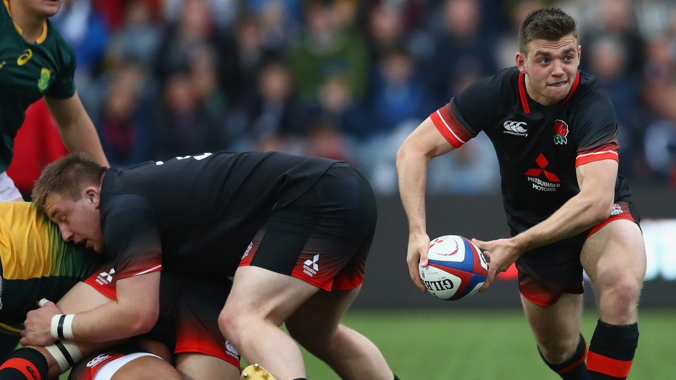 Leicester scrum-half Ben White scored a first-half try in the semi-final victory