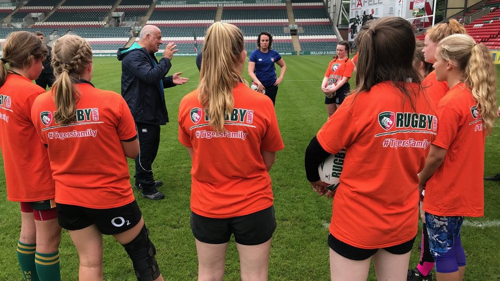 Tigers aim to encourage participation in women's rugby at all levels