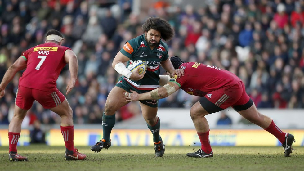Tatafu Polota Nau starts in the centre of the Tigers front row at Saracens this weekend
