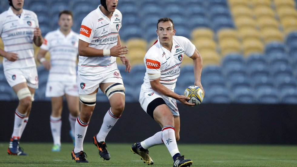 Tom Hardwick played 'A' League and Anglo-Welsh Cup rugby with Tigers this season