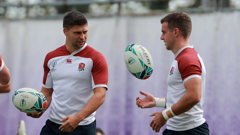 Ben Youngs is the most experienced member of the England starting XV