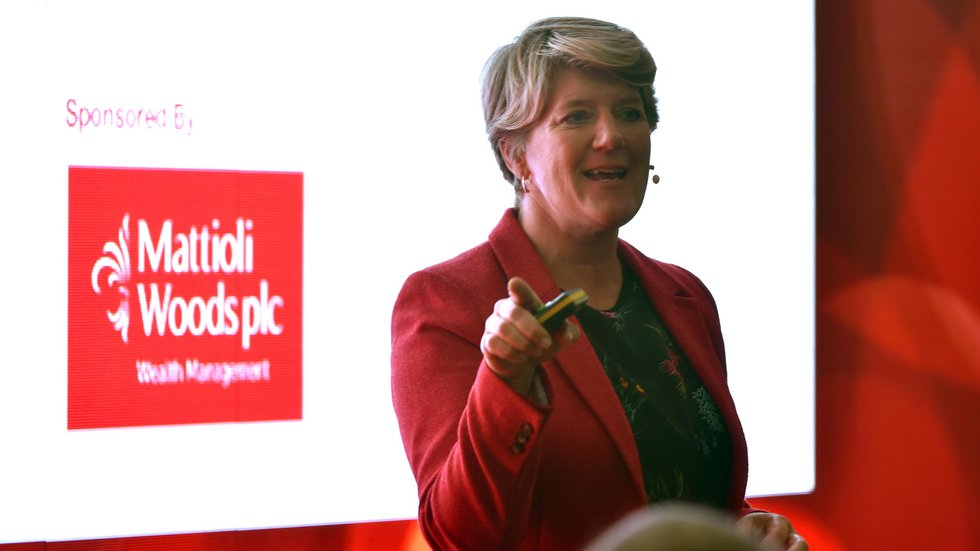 Clare Balding was among the headline guests for the Tigers Business Club last year