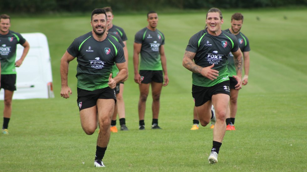 Tigers players are put through their paces during the 2019/20 pre-season programme