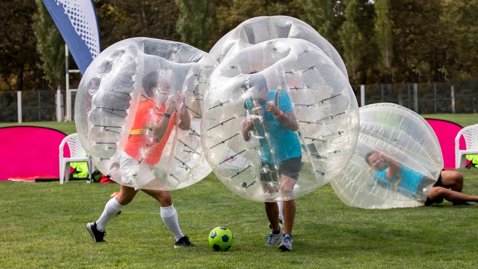 Team Building Events Leicester