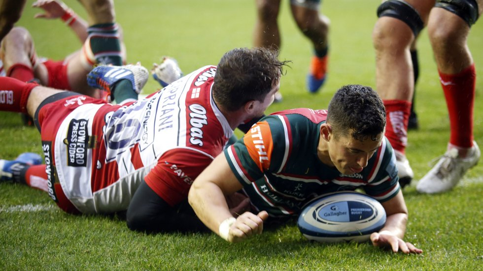The 29-year-old scored his first Premiership try against Gloucester last time out.
