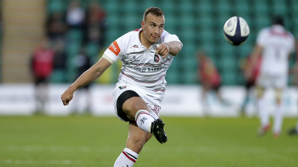 Tom Hardwick has played at fly-half and in the centre during the World Under-20s